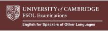 Cambridge ESOL Exams
