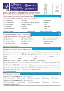 CIB Hotel Staff application
