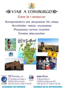 Viaje de Inmersión lingüística en inglés