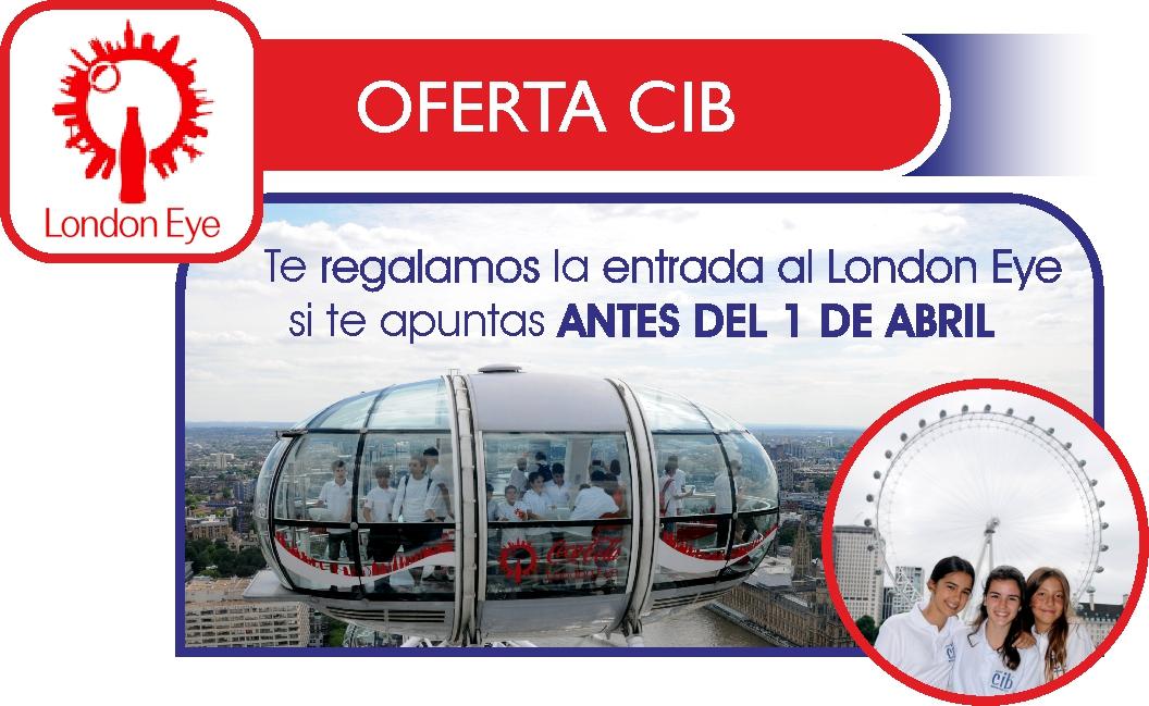 Inmersión lingüística - Verano en Inglaterra CIB - Oferta CIB London Eye