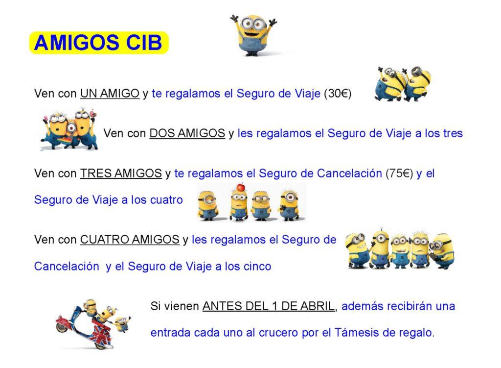 Inmersión lingüística - Verano en Inglaterra CIB - Oferta amigos CIB